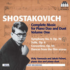 Shostakovich: Complete Music for Piano Duo and Duet, Vol. 1