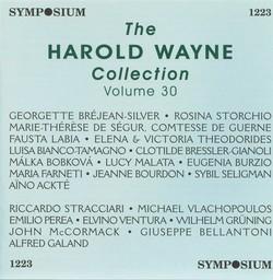The Harold Wayne Collection, Vol. 30 (1905-1916)
