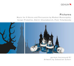 Pictures: Music for 8 Horns & Percussion