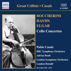 Boccherini, Haydn & Elgar: Cello Concertos