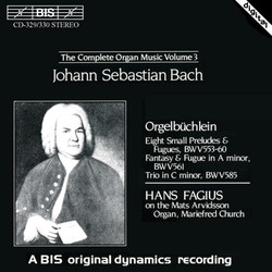 J.S. Bach - Complete Organ Music, Vol.3