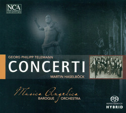 Telemann, G.P.: Concertos - Twv 51, 53