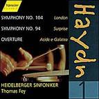 Joseph Haydn - Symphonies Nos. 94, 104 & Overture Acide e Galatea