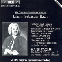 J.S. Bach - Complete Organ Music, Vol.4