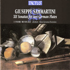 Sammartini: XII Sonatas for two German Flutes