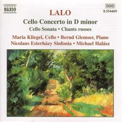 Lalo: Cello Concerto in D Minor / Cello Sonata