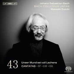J.S. Bach – Cantatas, Vol.43