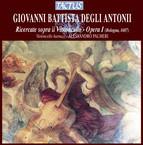Degli Antoni: Ricercate sopra il Violoncello - Opera I