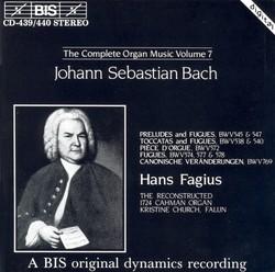 J.S. Bach - Complete Organ Music, Vol.7