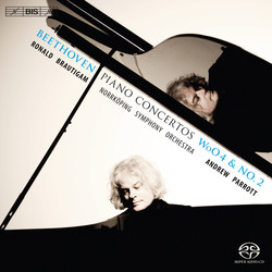 Beethoven – Piano Concertos WoO4 and No.2