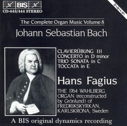 J.S. Bach - Complete Organ Music, Vol.8, Clavierübung III
