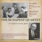 Mozart, W.A.: Piano Quartets Nos. 1 and 2 / Schumann, R.: Piano Quintet (Curzon, Arrau, Budapest Quartet) (1943, 1951)