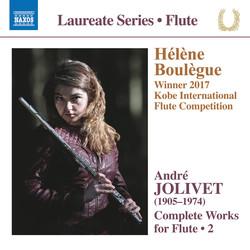 Jolivet: Complete Works for Flute, Vol. 2