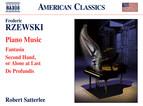 Rzewski: Piano Music