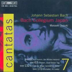 J.S. Bach - Cantatas, Vol.7 (BWV 61, 63, 132, 172)