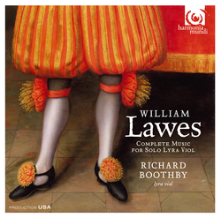 Lawes: Complete Music for Solo Lyra Viol