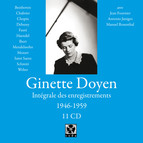 Ginette Doyene: Intégrale des enregistrements (1946-1959)
