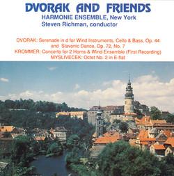 Dvorak: Serenade in D Minor / Slavonic Dance No. 7 / Krommer: Concerto for 2 Horns / Myslivecek: Octet No. 2