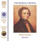 Chopin: Piano Sonatas Nos. 1-3