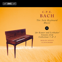 C.P.E. Bach – Solo Keyboard Music, Vol. 31