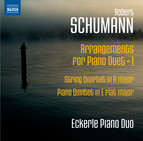 Schumann: Arrangements for Piano Duet, Vol. 1