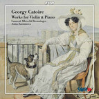 Catoire: Works for Violin and Piano