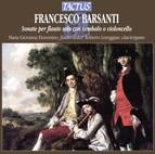 Barsanti: Sonate per flauto solo con cembalo o violoncell