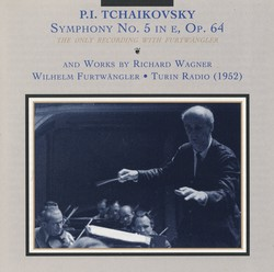 Tchaikovsky: Symphony No. 5 - Wagner: Siegfied Idyll and Overture to The Flying Dutchman (1952)