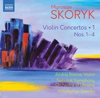 Skoryk: Complete Violin Concertos, Vol. 1