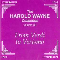The Harold Wayne Collection, Vol. 39