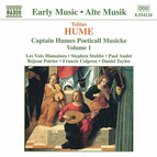 Hume: Captain Humes Poeticall Musicke, Vol. 1
