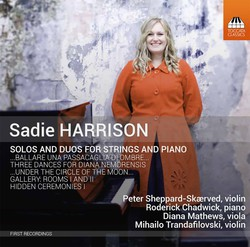 Sadie Harrison: Solos & Duos for Strings & Piano