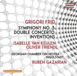 Frid: Symphony No. 3, Double Concerto & Inventions