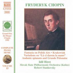 Chopin: Fantasia On Polish Airs / Andante Spianato / Krakowiak