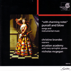 With Charming Notes - Purcell & Blow: Songs and Instrumental Music