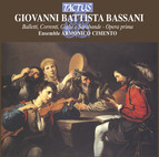 Bassani: Balletti, Correnti, Gighe e Sarabande - Opera prima