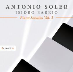 Soler: Piano Sonatas, Vol. 3