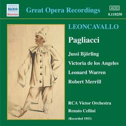 Leoncavallo: Pagliacci (Björling / Angeles) (1953)