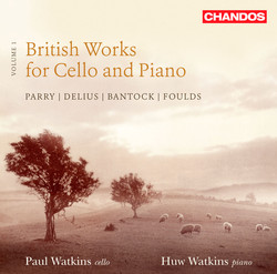 British Works For Cello And Piano, Vol. 1
