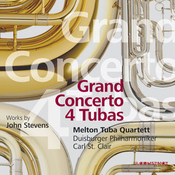 Stevens: Grand Concerto 4 Tubas - Adagio for Strings - Jubilare!