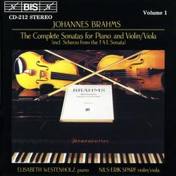 Brahms - Violin Sonatas