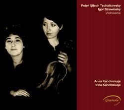Tchaikovsky - Stravinsky: Werke für Violine und Klavier