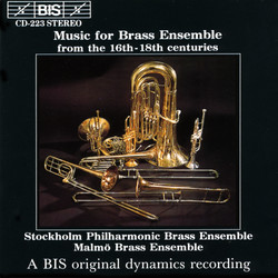 Music for Brass Ensemble from the 16th - 18th centuries