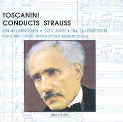 Strauss, R.: Heldenleben (Ein) / Don Juan / Till Eulenspiegels Lustige Streiche (Toscanini) (1939, 1941, 1949)
