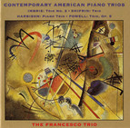 Imbrie / Shifrin / Harbison / Powell: Piano Trios