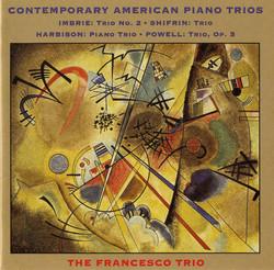 Imbrie / Shifrin / Harbison / Powell: Piano Trios