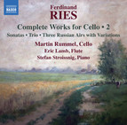 Ries: Complete Works for Cello, Vol. 2