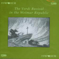 The Verdi Revival in the Weimar Republic