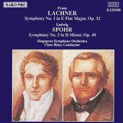 Lachner: Symphony No. 1 / Spohr: Symphony No. 2