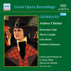 Giordano: Andrea Chenier (Gigli, Caniglia) (1931)